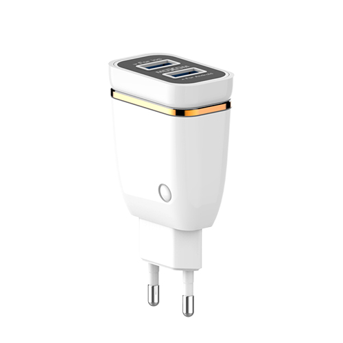 2 Port USB Fast Wall Charger