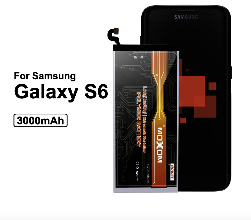3000mAh High Capacity Battery For Samsung Galaxy S6