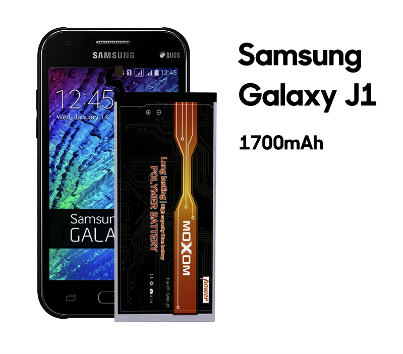1700mAh Li-ion Battery For Samsung Galaxy J1