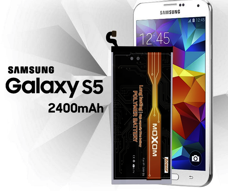 2400mAh High Capacity Lithium Battery For Samsung Galaxy S5
