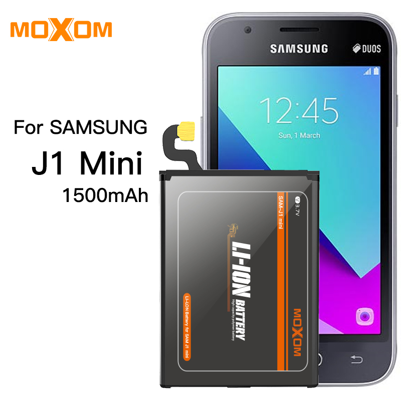Battery For Samsung Galaxy J1 Capacity 1500mAh Li-ion Phone Battery Replacement J1 Mini Battery Mobile Phone Batteries