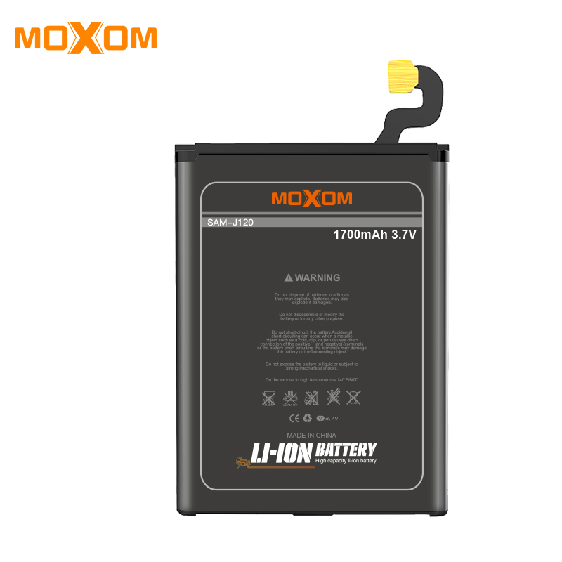 Replacement Lipo Battery 1600 mah Battery para For Samsung J120 Original Mobile Phone Battery