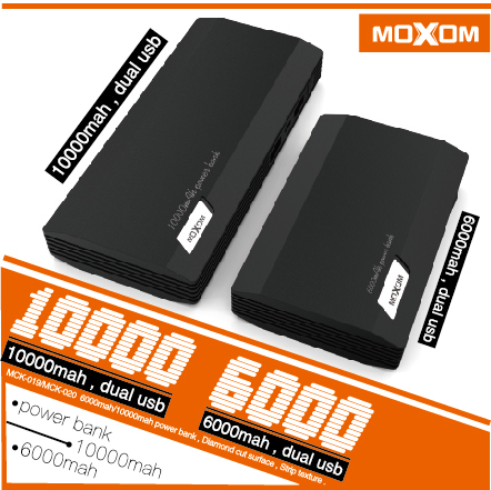 Mobile Charger 10000Mah 6000Mah Power Bank